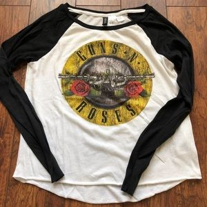 Guns N Roses long sleeve T